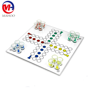 Hot Selling Drinking Ludo Board Chess Game Set
