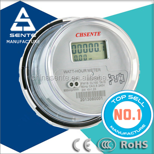 DDS7666 type single phase electronic active watt-hour zigbee smart energy meter