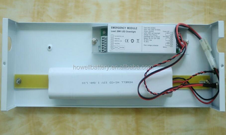 Wiring Diagram Emergency Fluorescent Lights