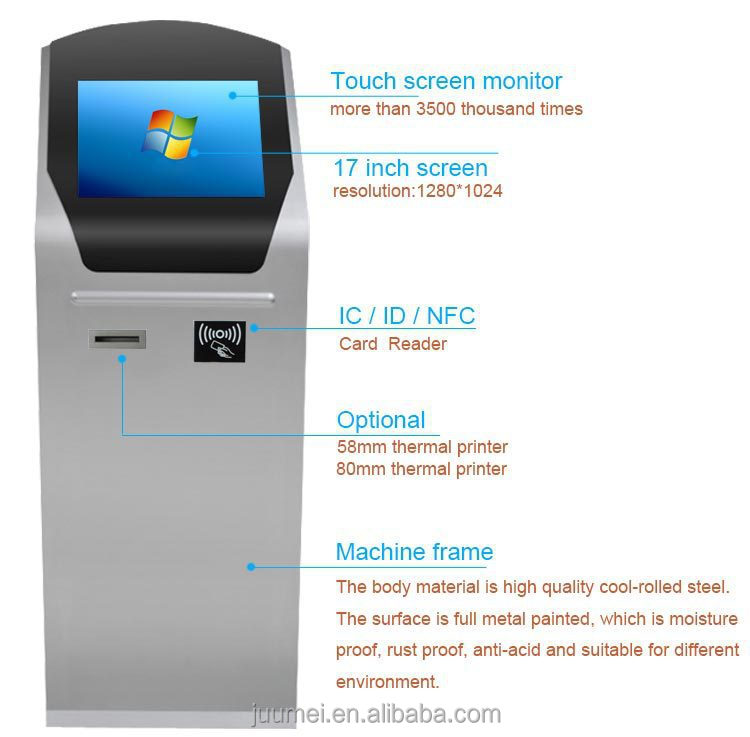 2015 New Wireless Bank Electronic Queuing System Kiosks,Queuing ...