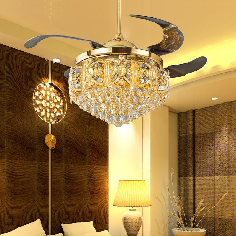 Black Chandelier Fan: Popular Ceiling Fan Crystal Chandelier-Buy Cheap Ceiling