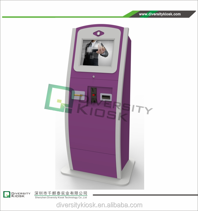 card-operated payment kiosk outdoor lcd digital video display kiosk vertical ip65 kiosk android diy led display