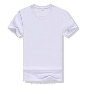 2018 men polyester spandex blank oem t shirt custom logo men's t shirt