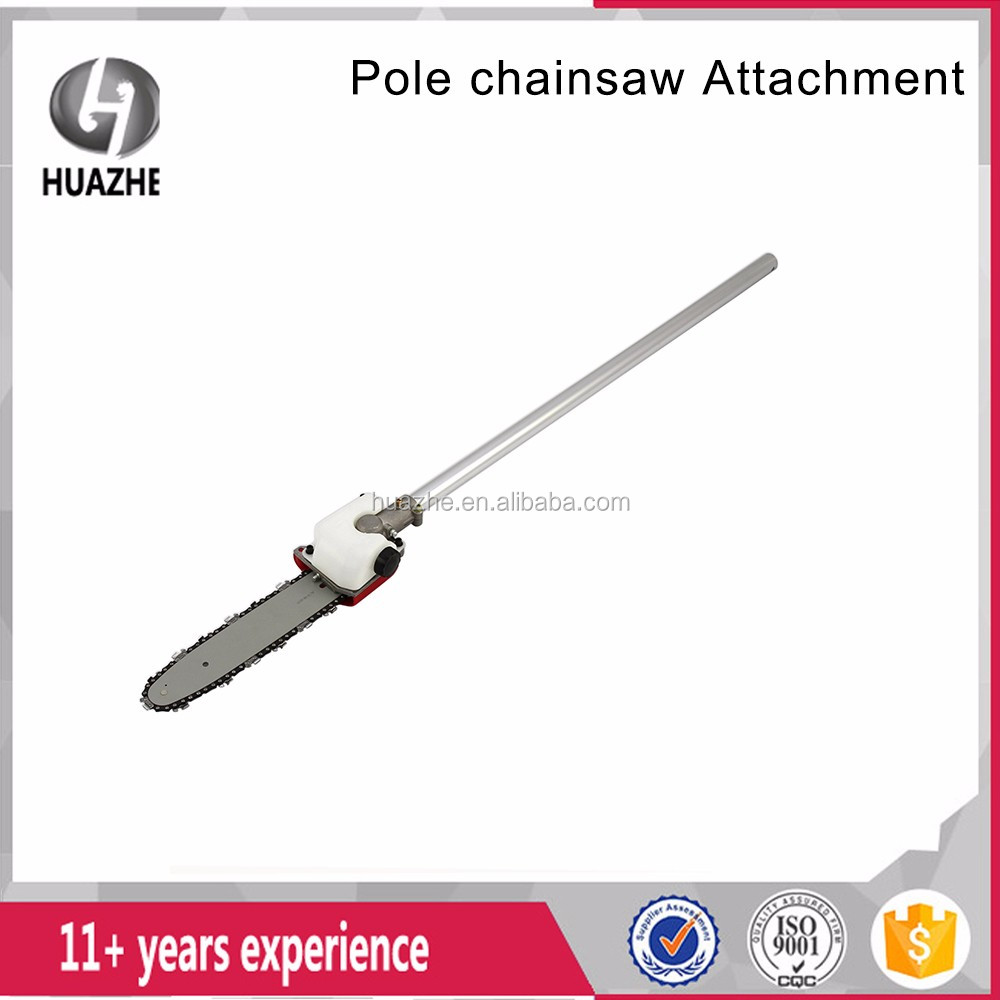 Universal Pole Saw Attachment /String Trimmer Edger Pruner 8in Bar Chain head/spare parts