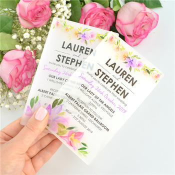 Custom Acrylic Laser Cut Wedding Menu Program Cardcheap Raw Material For Wedding Reception And Invitation Cards Manufactures Buy Cheap Raw Material