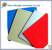 3003 decoration color coated aluminium sheet for roofing