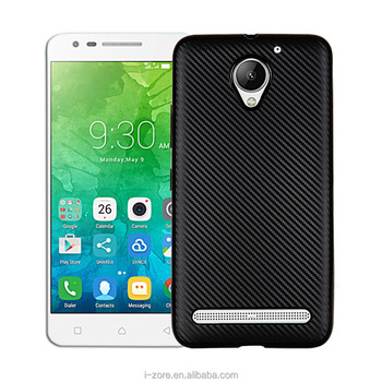 low priced 6a4f3 4cdcc Luxury Carbon Fibre Design Cell Phone Case For Lenovo Vibe C2 Soft Tpu Back  Cover - Buy Cell Phone Case For Lenovo Vibe C2,Back Cover Case For Lenovo  ...