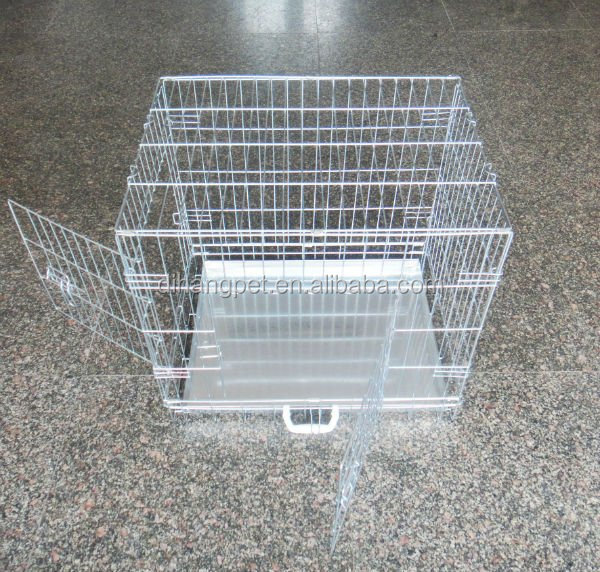 "20"", 24"", 30"", 36"", 42"", 48"" Galvanized Steel Dog Cage"