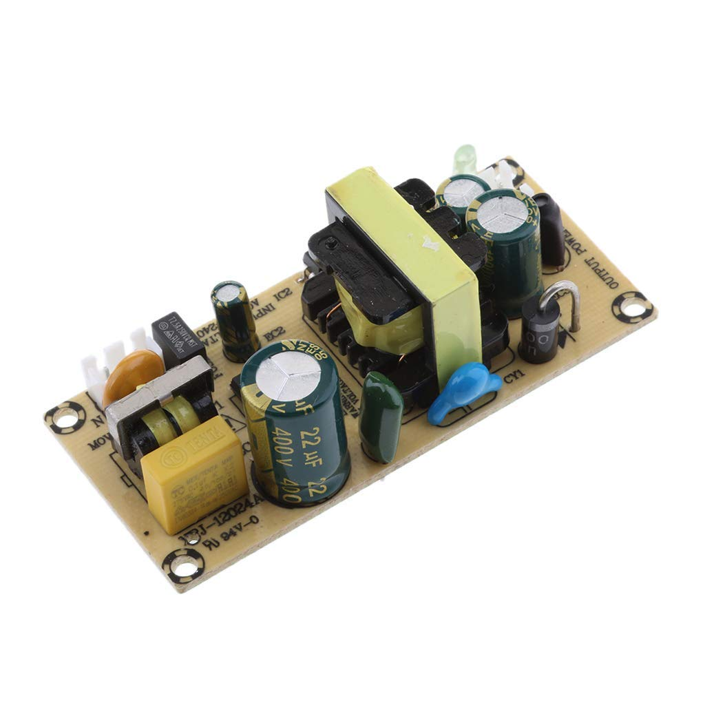 Baosity 12V 2A 24W AC-DC Step Down Isolated Switching Power Supply Module Board