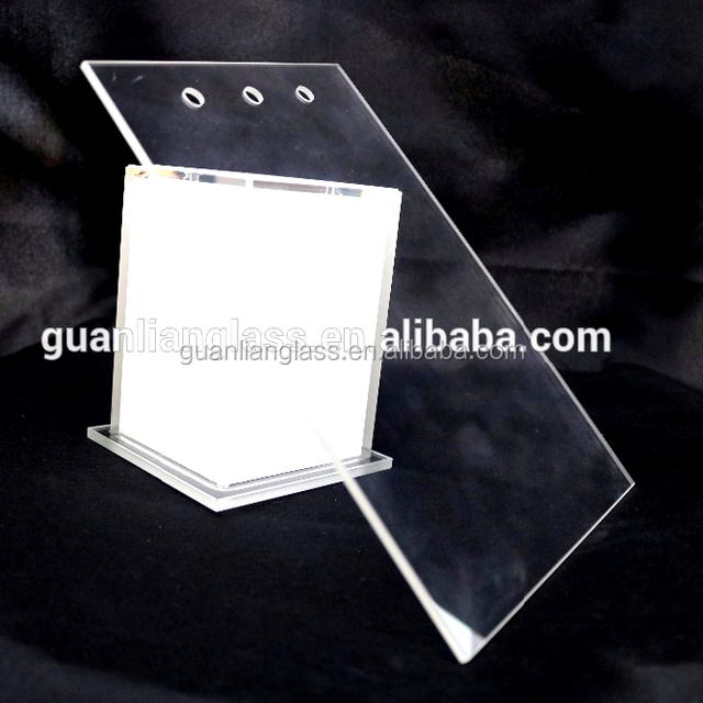 Factory price 2mm toughened clear panel clear glass plates