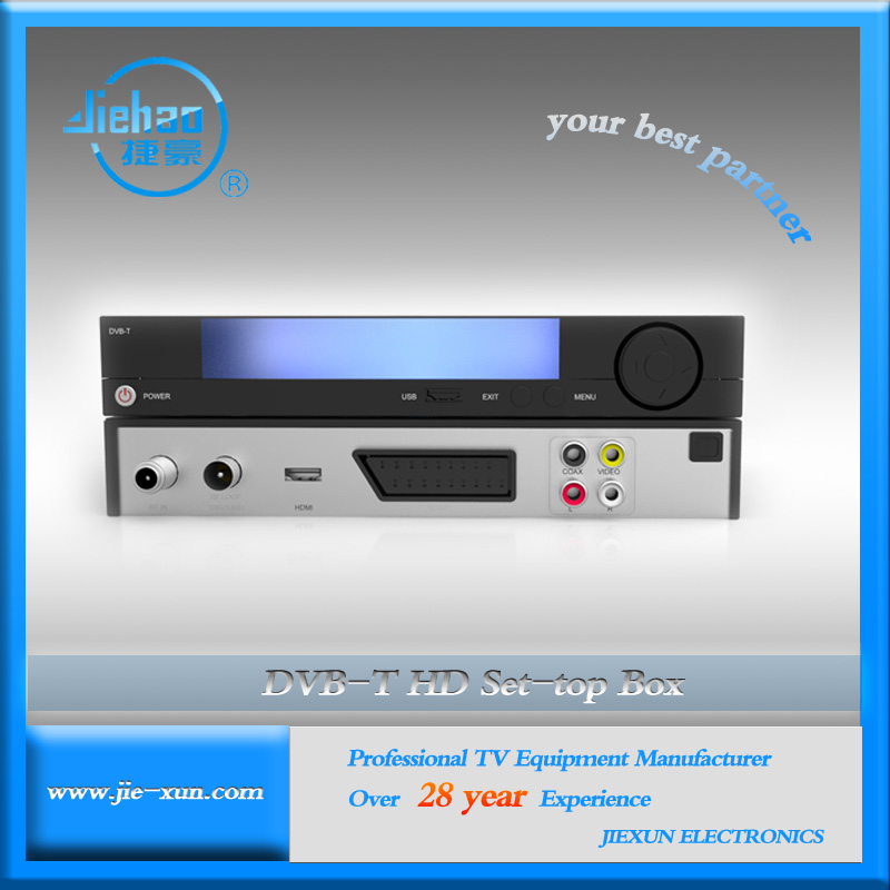 Full HD MPEG4 H.264 DVB-T Set Top Box