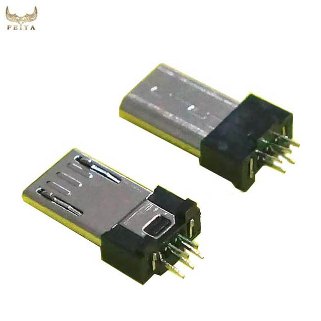 micro usb v8 5 pin extended male connector