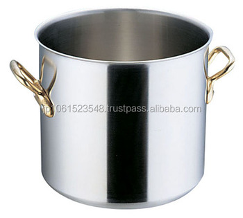 Stainless Steel Pot Brass Handle Design That Meets The ...