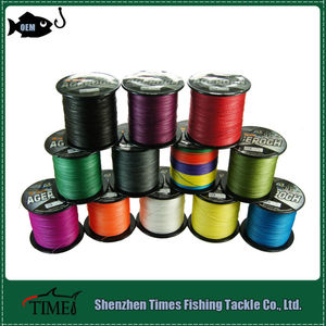 2017 New OEM 100m-2000m Multicolored Longline Fishing Rope