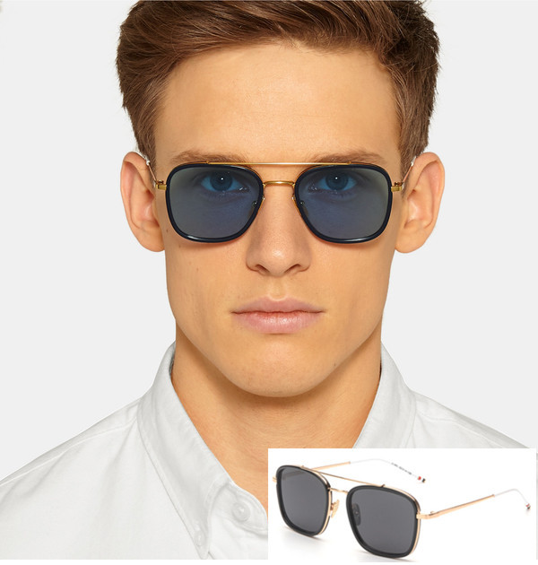 639d565e273f7e Buy Todays Offers Vogue Square Flat Top Browne Sunglasses Men Vintage  Casual Women Sun Glasses Retro Shades Gafas de sol mujer UV400 in Cheap  Price on ...