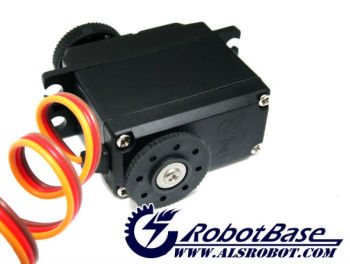 RB-130AM servo motor with dual shaft output for arduino robot