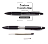 Rose Gold Metal Roller Writing Engraving Pen Can Design Your Own Packaging And Customized Logo