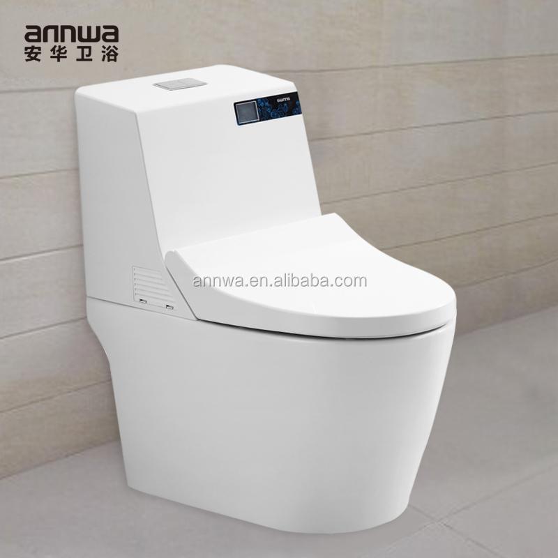 Wc bidet integrato con sedile del water automatico toletta for Wc bidet integrato