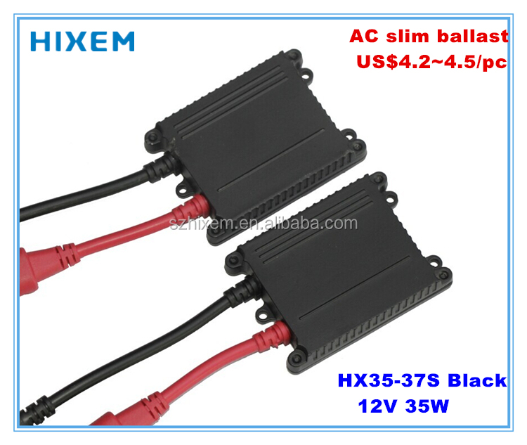 High quality AC slim digital ballast 35W for xenon kits, 2 years' warranty, constant output power