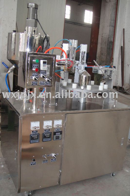 KDGF-25B aluminium plastic laminated tube filling and sealing machine,filing &sealing machine