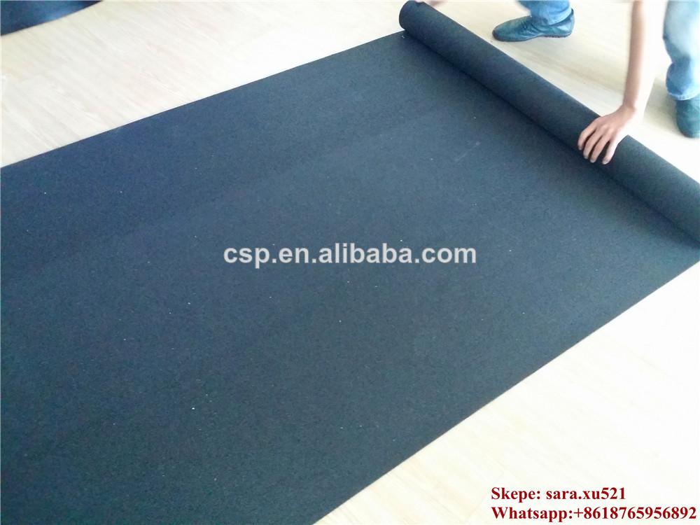 Gimnasio crossfit del piso de goma en rollo suelos de - Suelo gimnasio ...