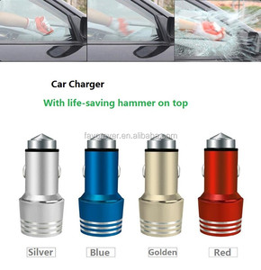 Christmas hot selling emergency 2.4a 2port usb car charger for ipod touch 5