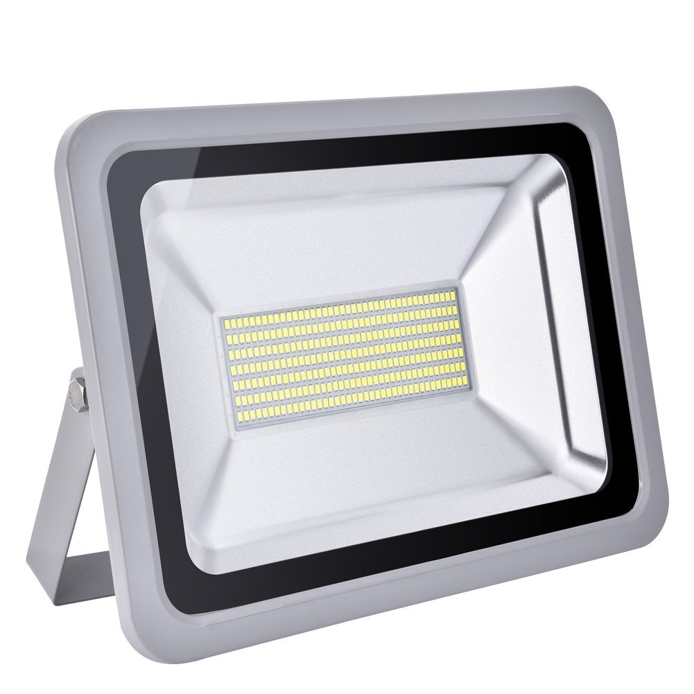 CHUNNUAN LED Flood Light 10W 20W,30W 50W,100W,150W,200W, 300W,500W Waterproof, IP65,CE and ROHS Certified Aluminium Strahler 110V (150)