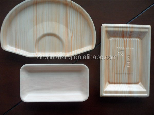 ps foam plastic seafood tray