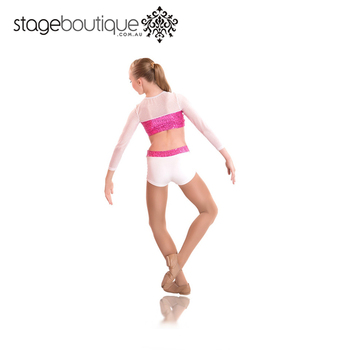 pink acro dance costumes Hot