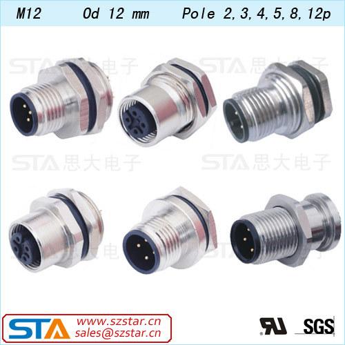 waterproof circular connector ip67 ip68 m8 m12 m16 m19 circular waterproof circular connector ip67 ip68 m8 m12 m16 m19 circular connector 2 3 4 5 6 7 8 9 10 12 pin circular connector ul rohs buy m8 m12 m16 m19