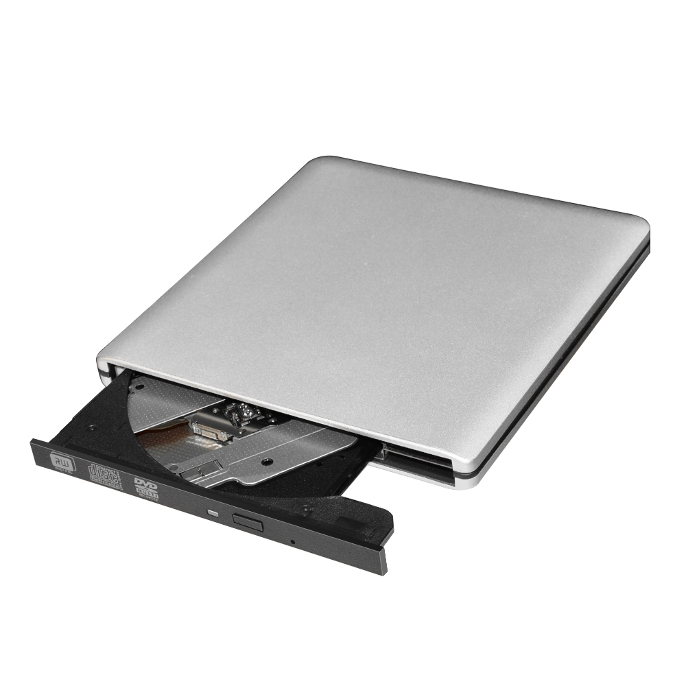 External DVD/CD Drives Portable CD DVD +/-RW Optical Drive Burner High Speed Data Transfer USB 3.0 Compatible with PC Desktop