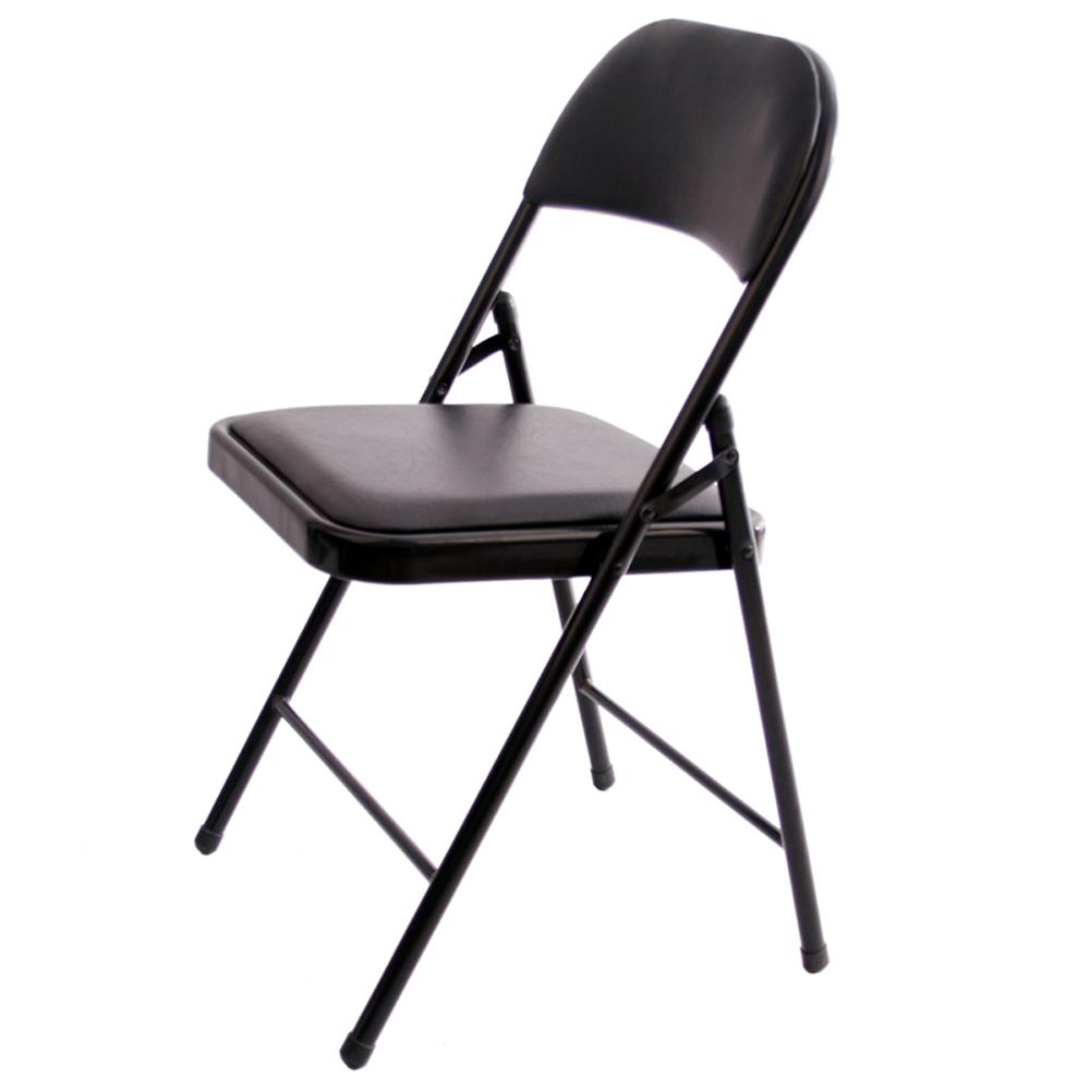 conomique en m tal chaise pliante salle manger chaise bureau chaise pliante chaises de salle. Black Bedroom Furniture Sets. Home Design Ideas