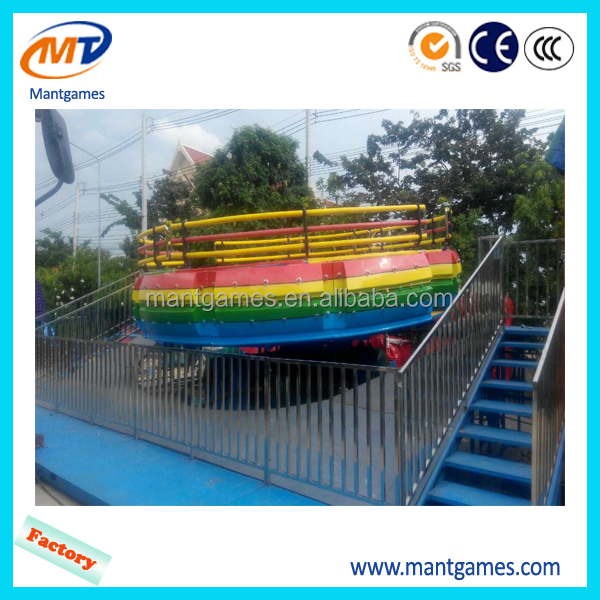 Guangzhou factory direct rides amusement park rides flying tagada flying disco