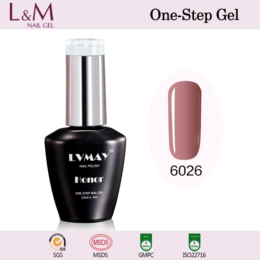 Easy Soak-Off UV/LED sweet candy color Gel Polish Suppliers of LVMAY Profession UV Gel Nail Polish