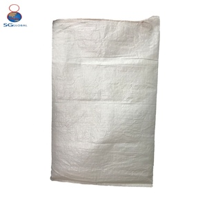 Wholesale China durable 25kg 50kg drawstring pp woven bag