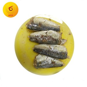 125g halal canned sardine fish in oil/tomato sauce/brine
