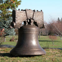 Handmade large life size bronze church bell for sale