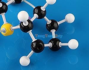 Sangdo Scientific 240Pcs Atom Molecular Models Kit Set for General & Organic Chemistry