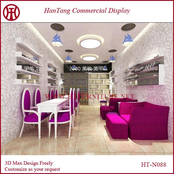 Oem Mdf Nail Bar Furniture Design  Buy Nail Bar Furniture,Nail Bar