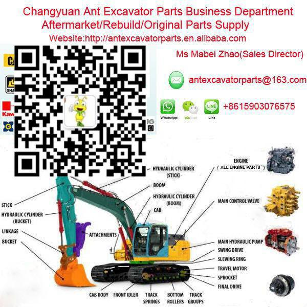bobcat 331 excavator parts hydraulic pump parts ap2d16 hydraulic pump  repair kit