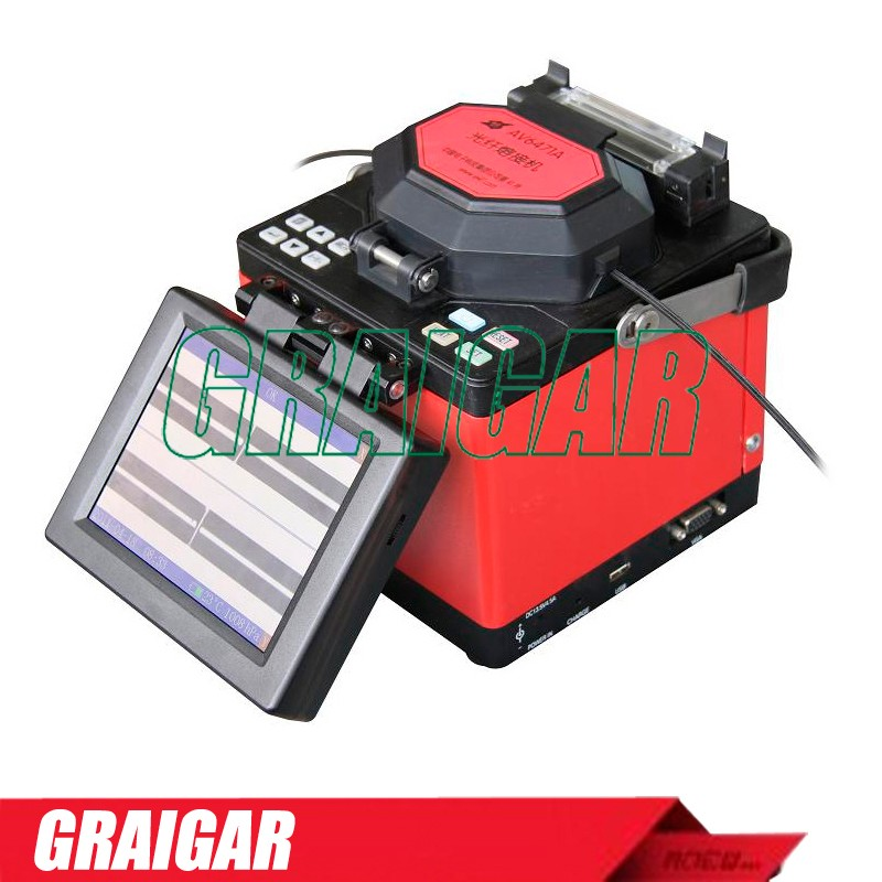AV6471A Optical Fiber Fusion Splicer 8 seconds for splicing USB and VAG Ports