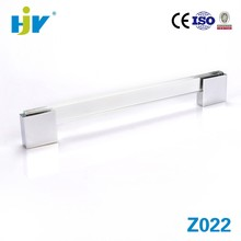 Hot selling items glass acrylic drawer pull handles