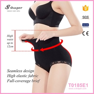 Hot Sale In India Black Spandex Body Shaper Butt Lifter With Hole