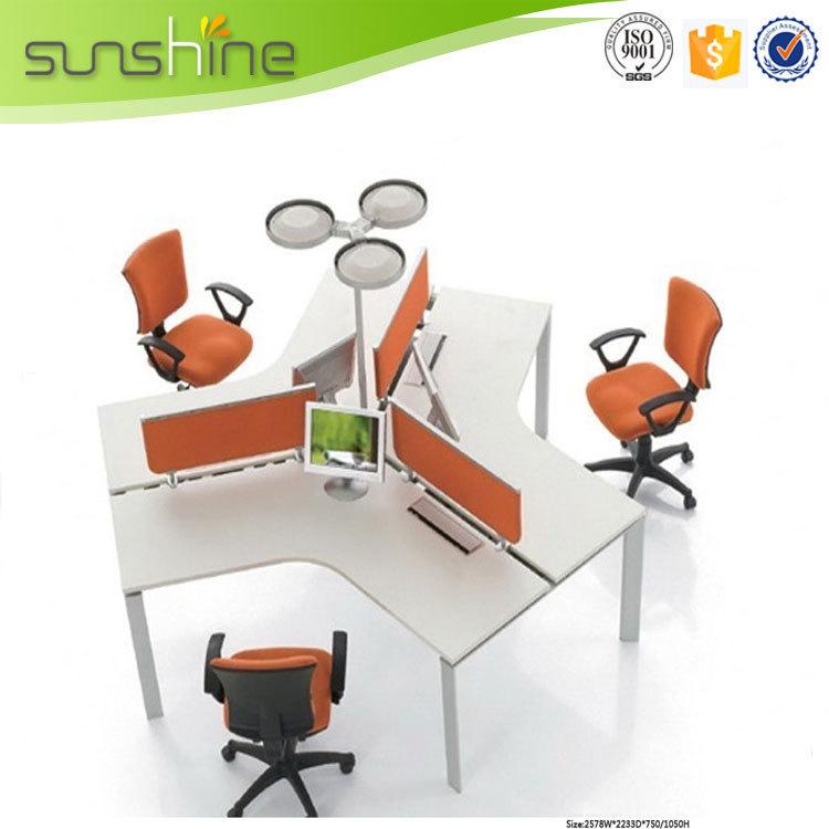Work Table Design Modern Office Furniture Computer Table
