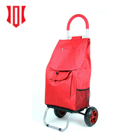 Trend 2018 China Suppliers Shopping Trolley Grocery Foldable Cart Bag Luggage Rolling Shopping Tote
