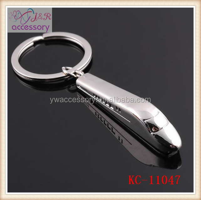 High speed train shaped key chain,bullet train shaped key chain