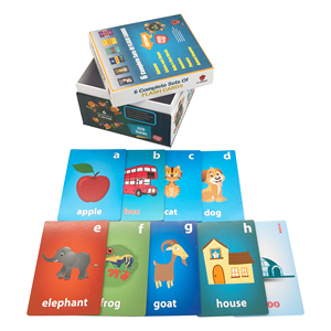 Promotional Item Custom Innovative Learning Memory Playing Card Games For kids