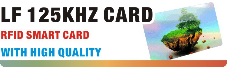 LF 125 kHz proximity Clam Shell TK4100 NFC RFID Card for Access Control