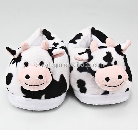 half off e0f15 7b909 Peluche Animale Forma Animale Pantofole Peluche Giocattolo Per Bambini  Scarpe Per Uso Interno,Peluche Mucca Scarpe Per Uso Interno Per I Bambini -  Buy ...