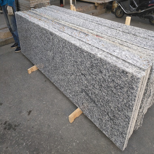 cheap construction materials natural quarry stone sea wave white granite slabs